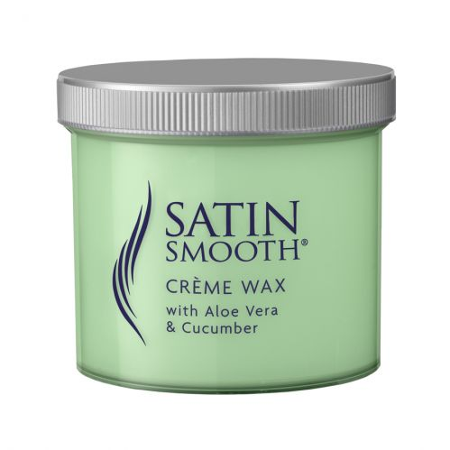 Satin Smooth Crème Wax 450g - Aloe Vera & Cucumber