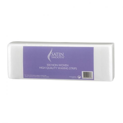 Satin Smooth Paper Wax Strips - 100