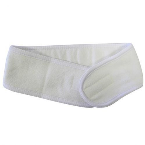 Velcro Headband - WHITE