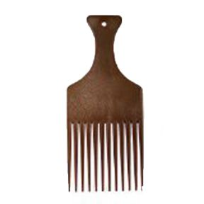 Imitation Wood Afro Comb