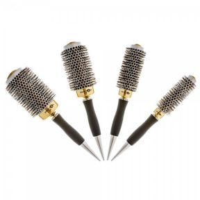 HeadJog Gold Ceramic Brush Set