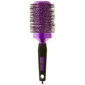 Headjog No.91 Ceramic Ionic Brush - Purple (60mm)