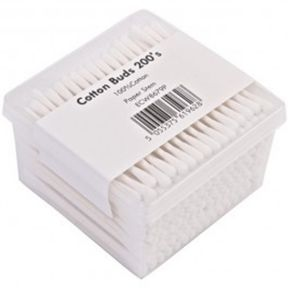 Paper Stem Cotton Buds Box x 200