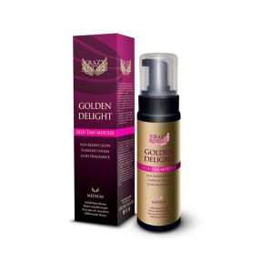 Golden Delight Self Tan Mousse 200ml